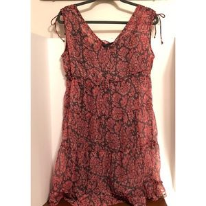 American Eagle Outfitters Dresses - American Eagle Pink and Gray Dress